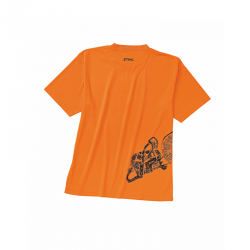 TSHIRT DYNAMIC ORANGE
